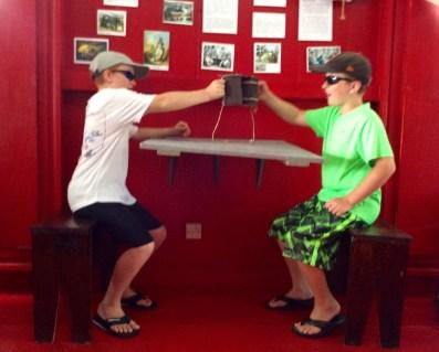 Ryan & Ronan, Nelson's Dockyard Museum, Antigua