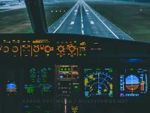 Airbus A319 Crosswind Landing Wallpaper