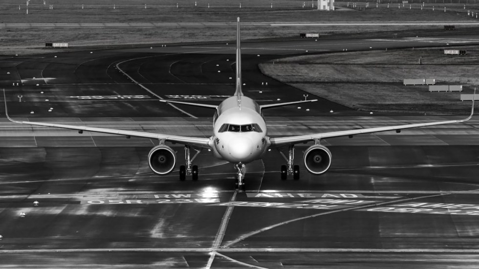 A320 with sharklets