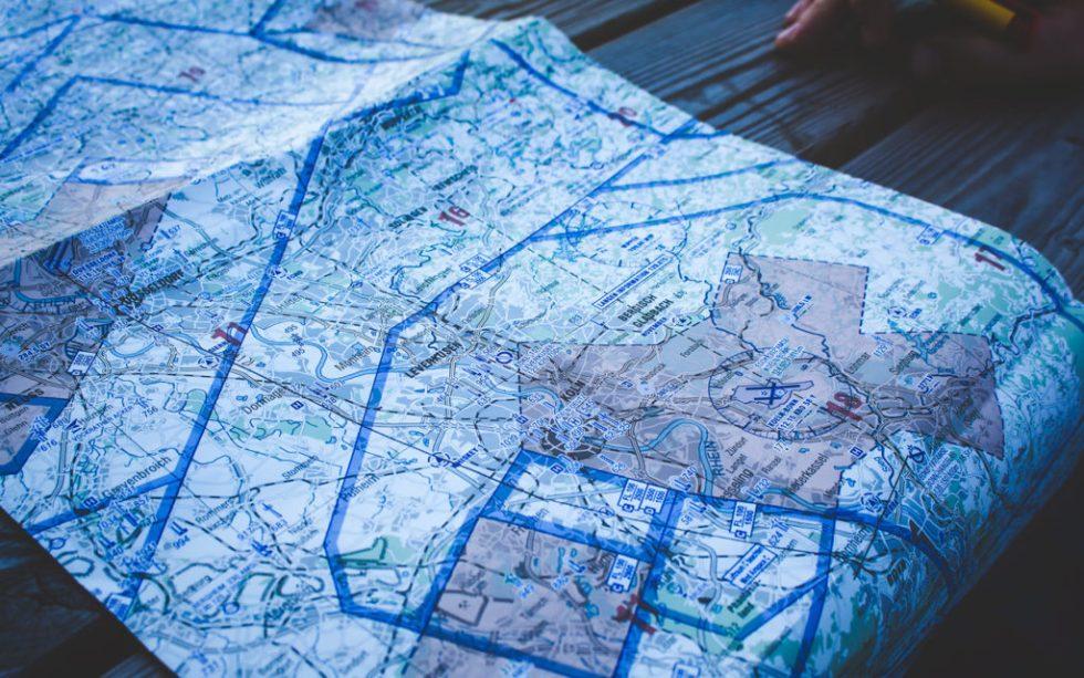 VFR map