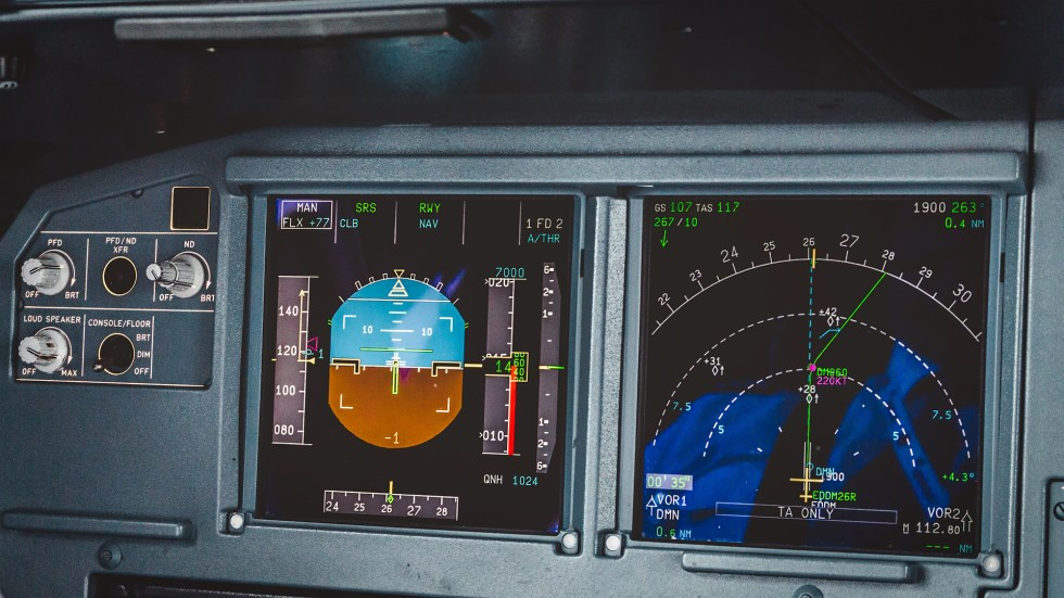 EFIS, PFD and ND A320