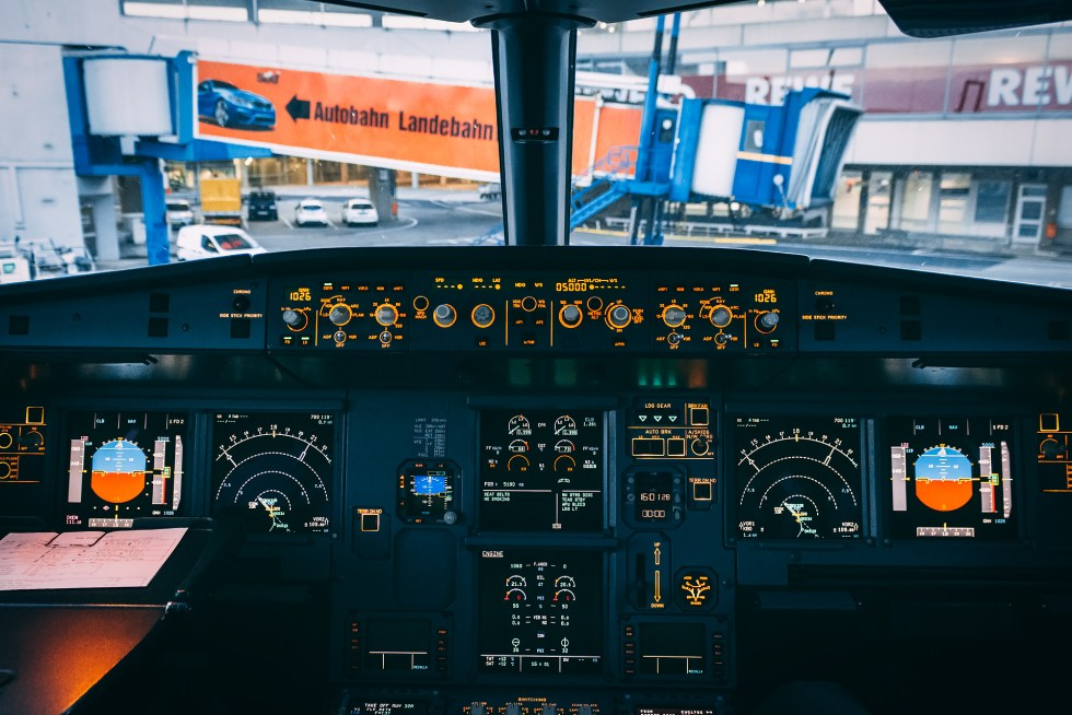 Airbus A320 Cockpit Pushback
