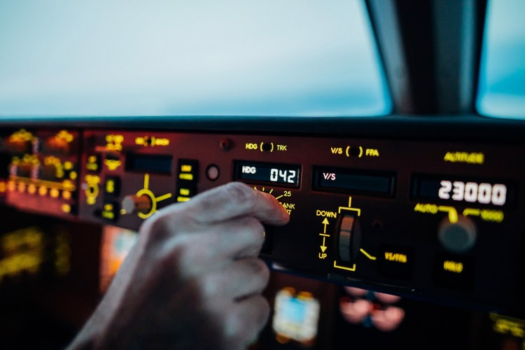 The Autopilot Of Boeings Can Be Controlled Via Thee MCP, As Seen Here, Where The Captain Sets A New Heading