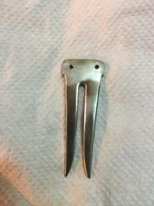 Sliced fork