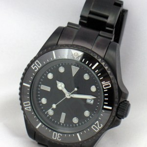 Sub Deep Sea 44mm PVD Automatic Diver Watch Ceramic Bezel