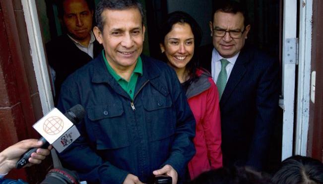 Trasladarán a expresidente peruano Humala y a su esposa a la cárcel