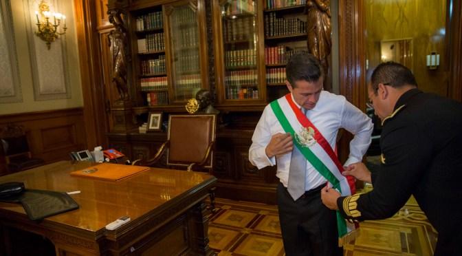 Así fue el Grito de Independencia encabezado por Enrique Peña Nieto