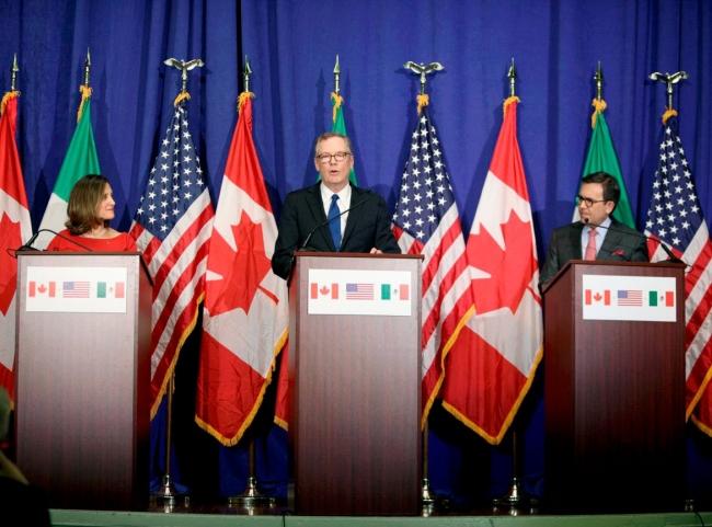 Canadá está listo ante eventual salida de Estados Unidos del TLCAN