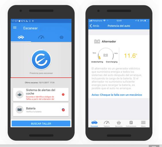 Engie la app que te dice que le pasa a tu auto