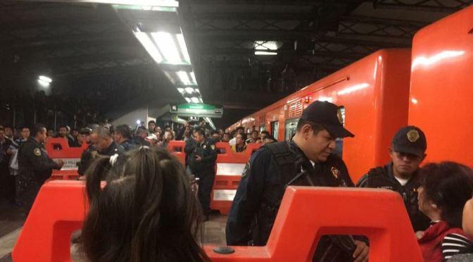 VIDEO: Asalto en Línea B del Metro deja un herido por arma de fuego