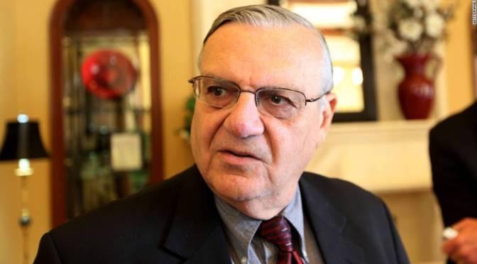 Anuncia exsheriff Joe Arpaio que se postulara para el Senado de EUA