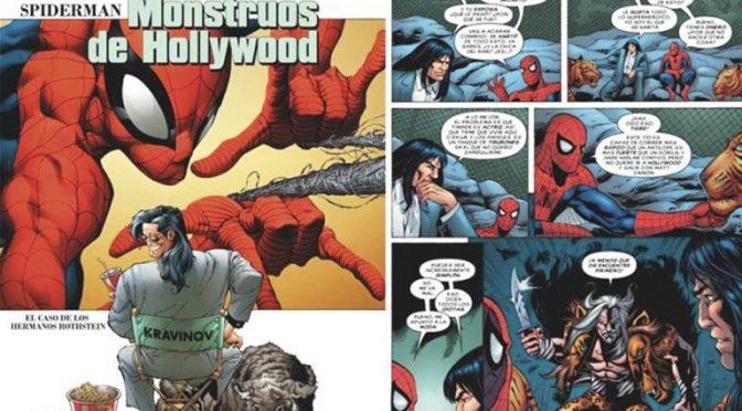 En cómic de Spiderman, Marvel evidenció abusos de Weinstein 16 años atrás