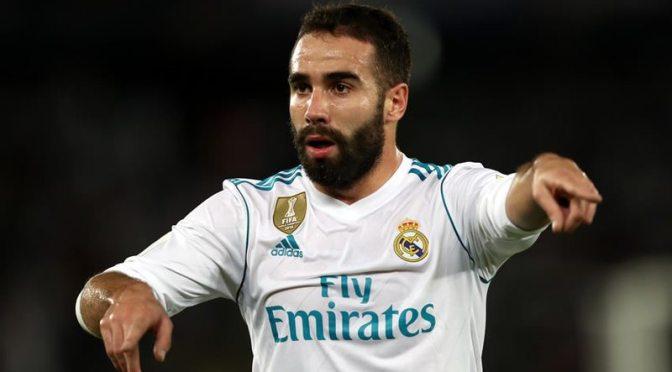 UEFA desestima apelación del Real Madrid y Carvajal se perderá partido