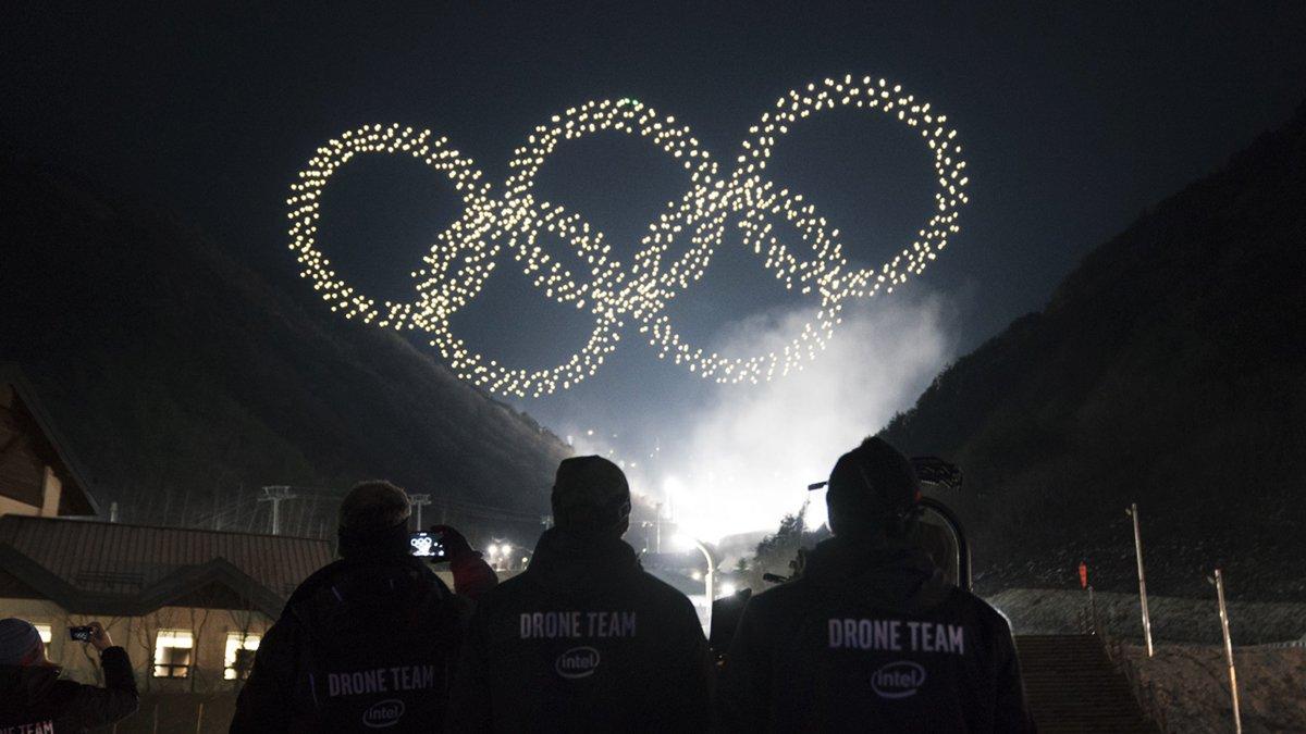 Intel rompe récord Guinness en Juegos Olímpicos de Invierno