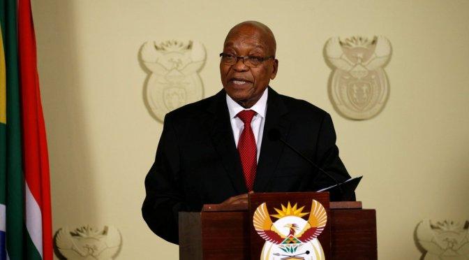 Presidente sudafricano renuncia por escándalo de corrupción