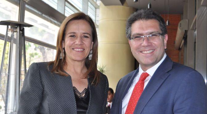 Margarita Zavala y Ríos Piter dialogan sobre opción de independientes