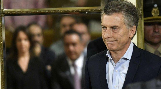 Macri pide a Trump exentar acero y aluminio de Argentina