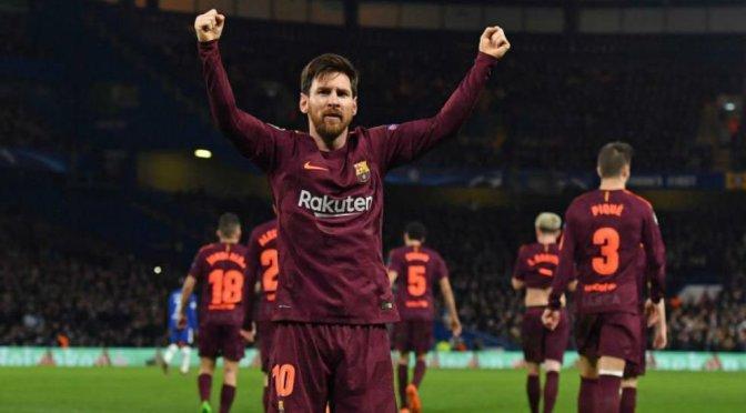 Messi salva al Barcelona en Stamford Bridge