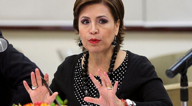 Rosario Robles desmiente presunta triangulación de recursos