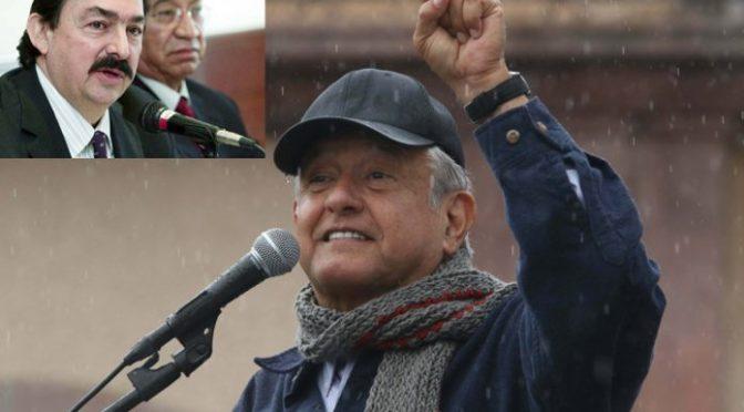 Pretende AMLO que Gómez Urrutia regrese a representar a mineros