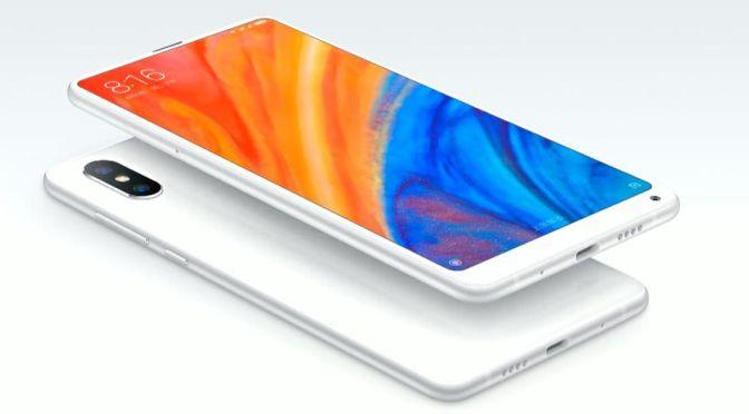 Xiaomi presenta el smartphone Mi MIX 2S