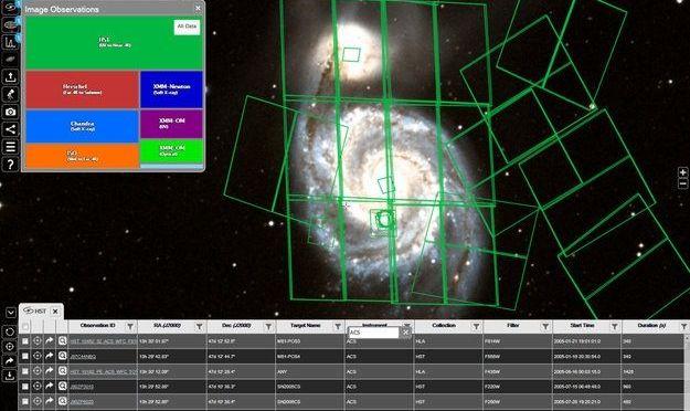 Agencia Espacial Europea lanza aplicación para observar el universo