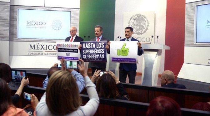 ISSSTE pone especial atención a la salud masculina: Eduardo Sánchez