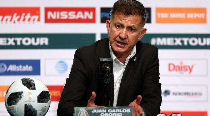 Osorio lamenta ausencias de Croacia en partido de futbol