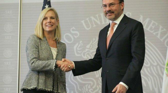 México y EUA acuerdan agilizar procesos aduanales y de comercio internacional