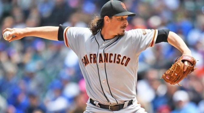 """Gigantes de San Francisco pierden a lanzador estelar para """"Opening Day"""""""