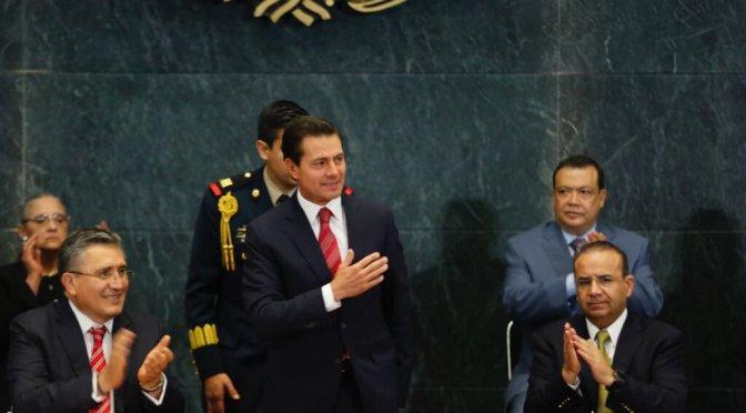 Absoluta disposición del gobierno para cumplir recomendaciones de CNDH: Peña Nieto