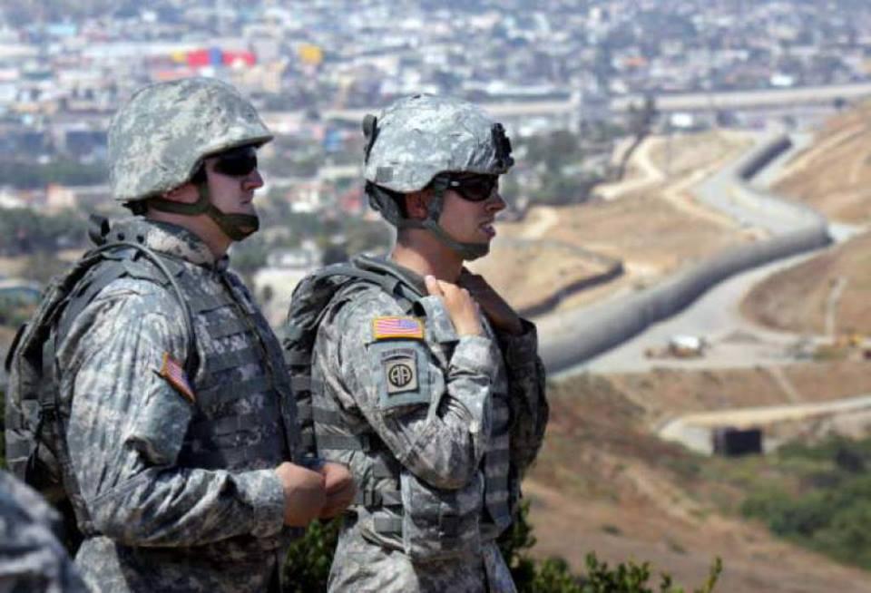 Despliegue inicial de Guardia Nacional de California llega a frontera