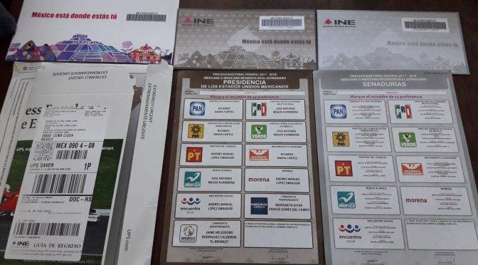 Este viernes iniciadistribución de boletas y papelería electoral