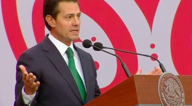 """Peña Nieto pide al Tri poner """"muy alto"""" el nombre de México en Rusia"""