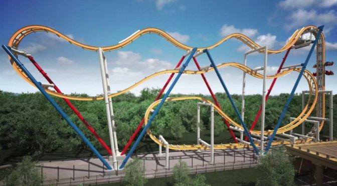 Wonder Woman Coaster, nueva atracción de Six Flags