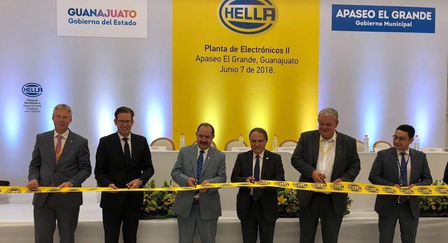 Hella abre nueva fábrica en Guanajuato