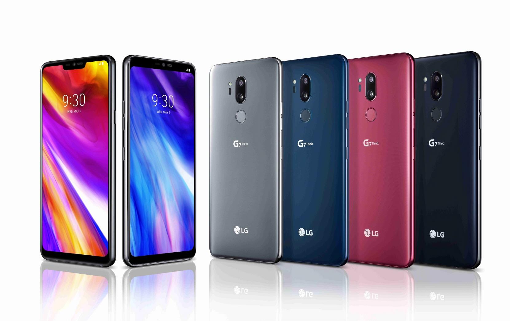 LG Electronics presenta su LG G7 ThinQ