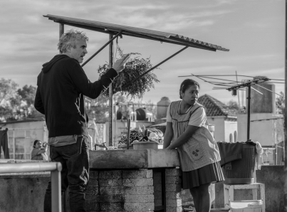 """Proyectarán """"Roma"""" gratis en Los Pinos"""