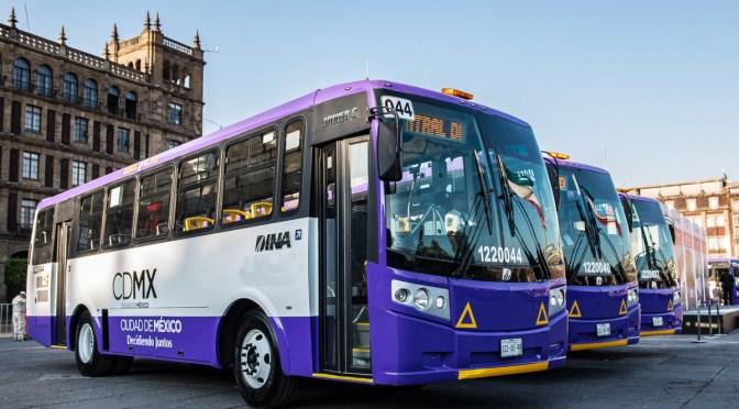 El transporte de la CDMX apuesta por la movilidad sustentable