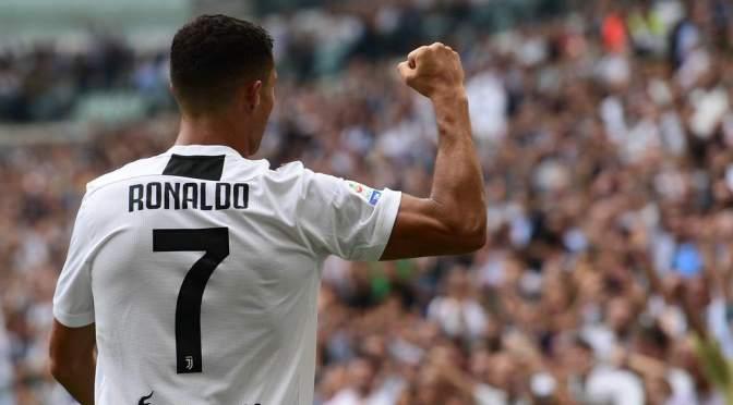 Cristiano impone marca histórica en derrota de la Juventus