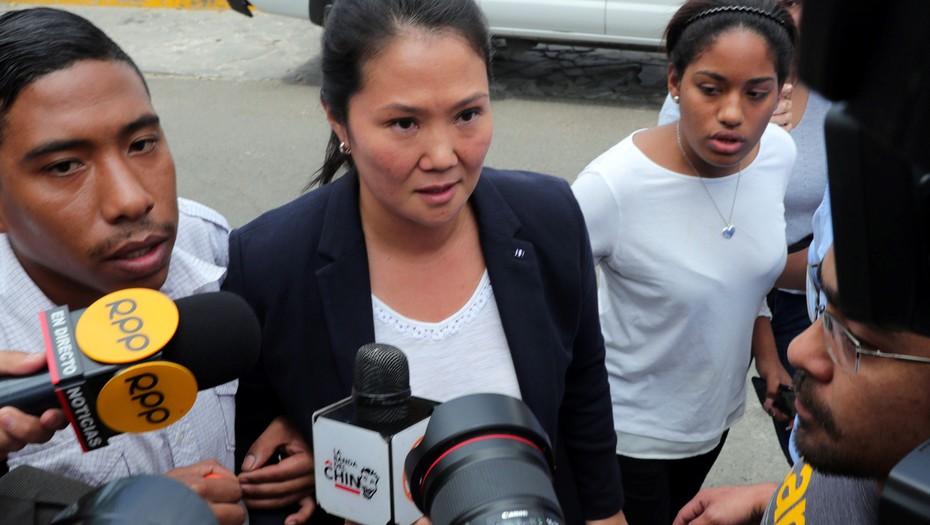 Keiko Fujimori fue detenida por presunto lavado de dinero