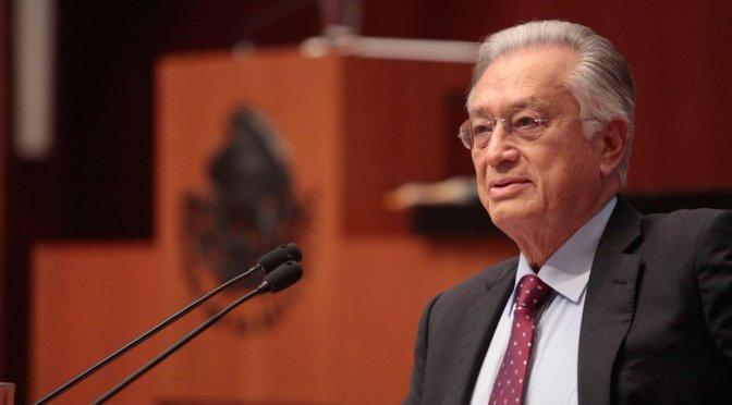Denuncian ante FGR a Manuel Bartlett por presunto enriquecimiento ilícito