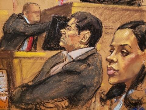 Defensa de 'El Chapo' arremete contra testigos del juicio