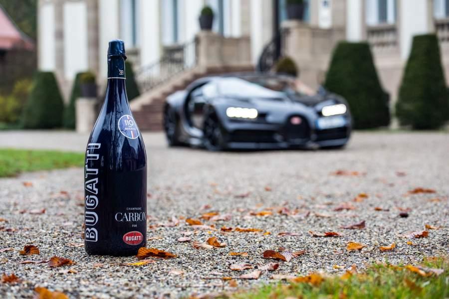 Bugatti celebra 110 años con el lanzamiento de su propia champagne