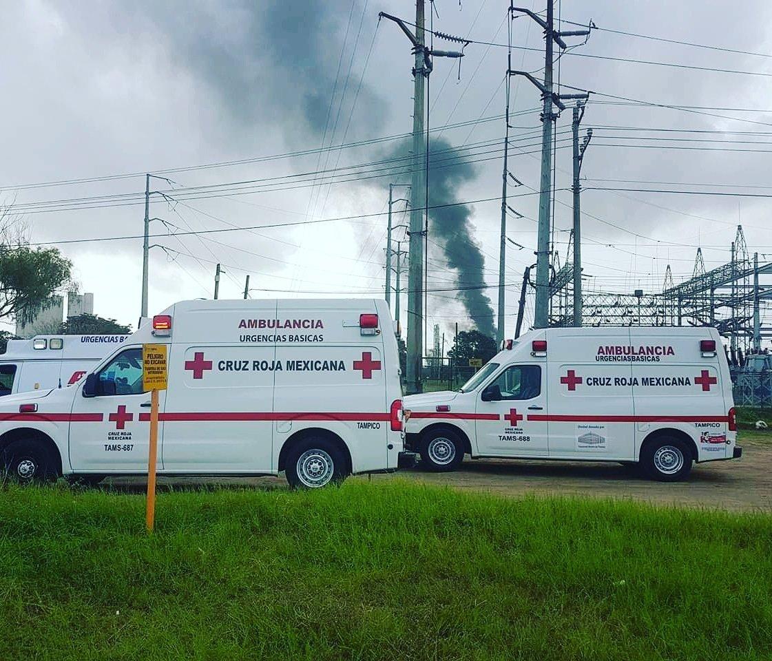Cruz Roja trabaja con normalidad servicios de emergencia
