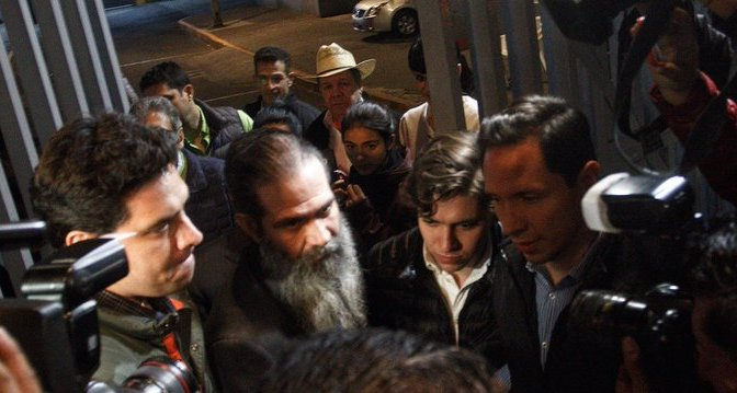 Guillermo Padrés salió del reclusorio Oriente