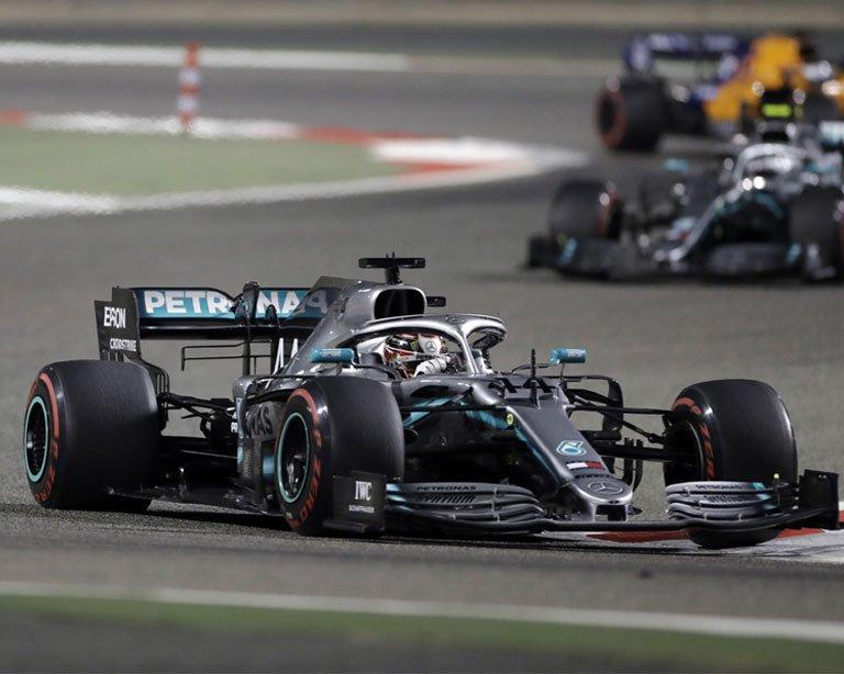 Lewis Hamilton ganó el Gran Premio de China de Fórmula Uno