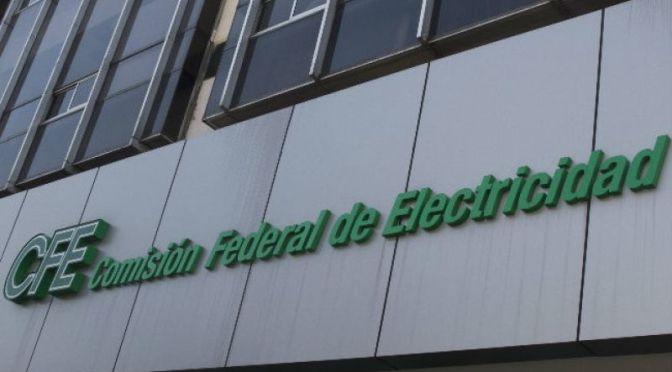 CFE es el protagonista en plan eléctrico nacional
