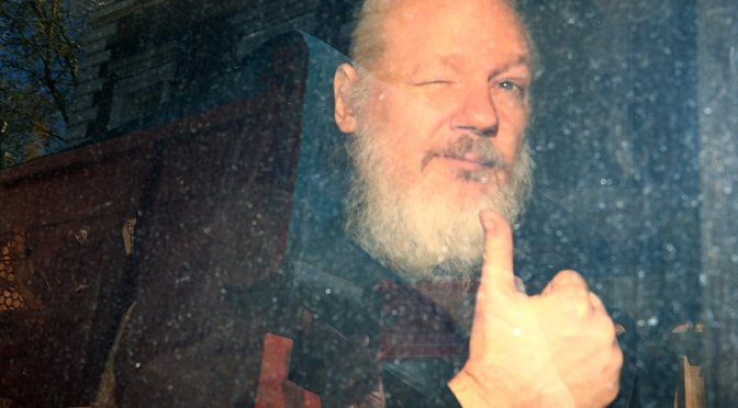 La historia de Julian Assange