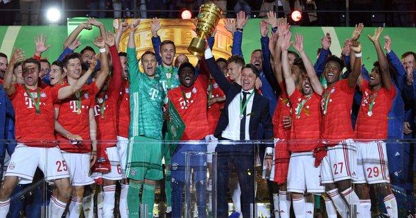 Bayern Múnich volvió a brillar y se llevó la Copa de Alemania